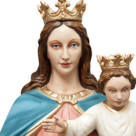 Mary Help of Christians statue in fiberglass 120cm s3