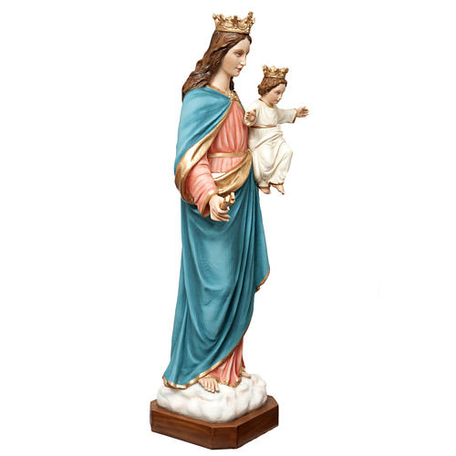 Mary Help of Christians statue in fiberglass 120cm 6