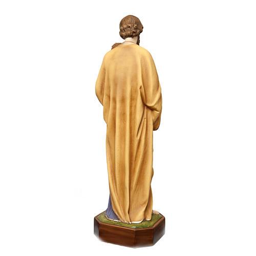 San Giuseppe con bimbo 130 cm vetroresina dipinta 7