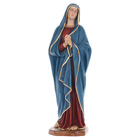 Our Lady of Sorrows statue in fiberglass 100cm s1