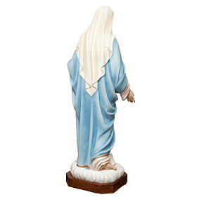 Sacred Heart of Mary statue in painted fiberglass 165cm s7