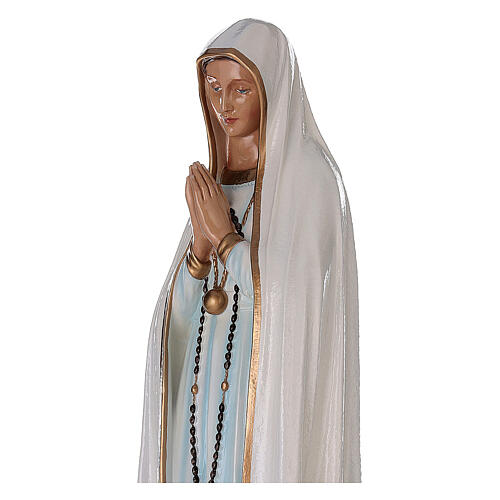 Madonna di Fatima 100 cm fiberglass dipinto 2
