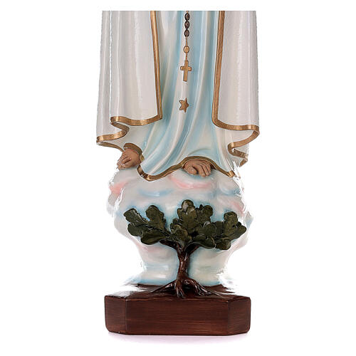 Madonna di Fatima 100 cm fiberglass dipinto 5