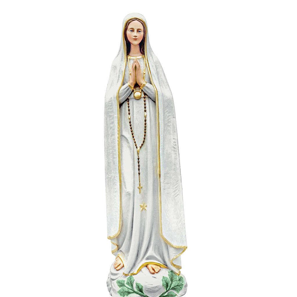 Our Lady of Fatima, statue in coloured fiberglass, 100cm 4