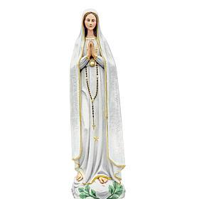 Our Lady of Fatima, statue in coloured fiberglass, 100cm s1