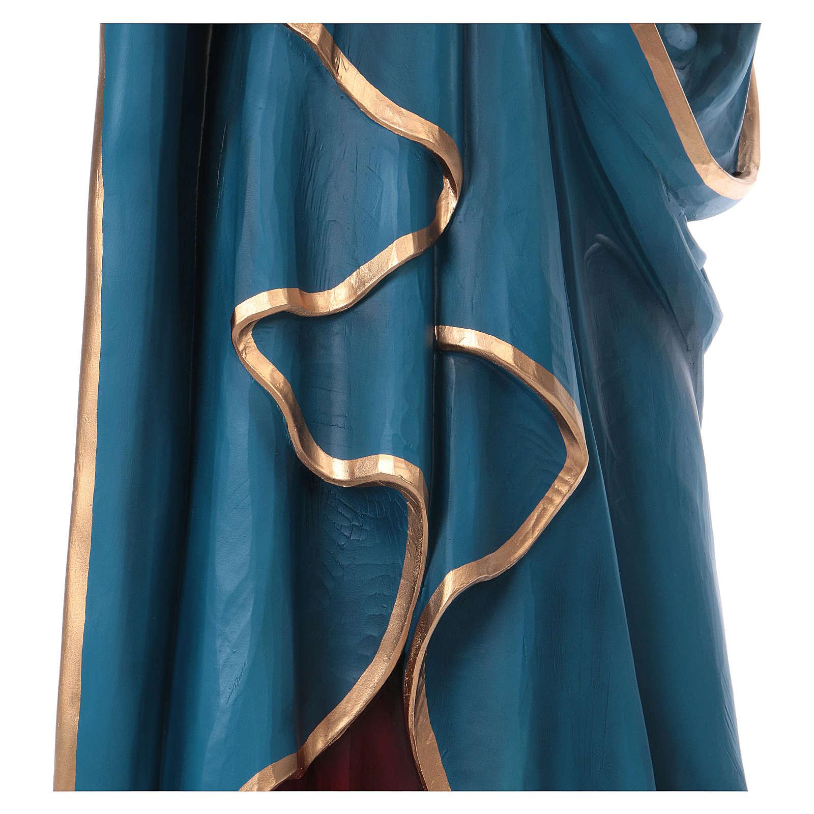 Nuestra Señora de los Dolores 160 cm. fibra de vidrio coloreada 4