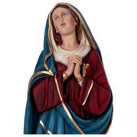 Madonna Addolorata 160 cm vetroresina colorata s2