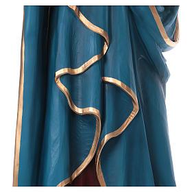 Madonna Addolorata 160 cm vetroresina colorata s6