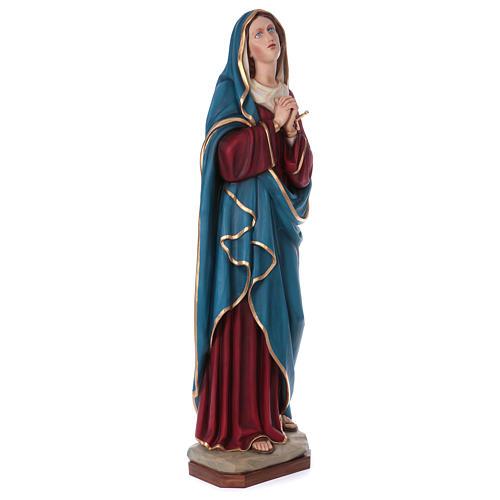 Madonna Addolorata 160 cm vetroresina colorata 5