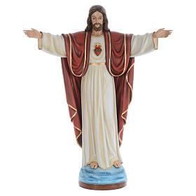 Christ the Redeemer, statue in painted fiberglass, 160cm s1