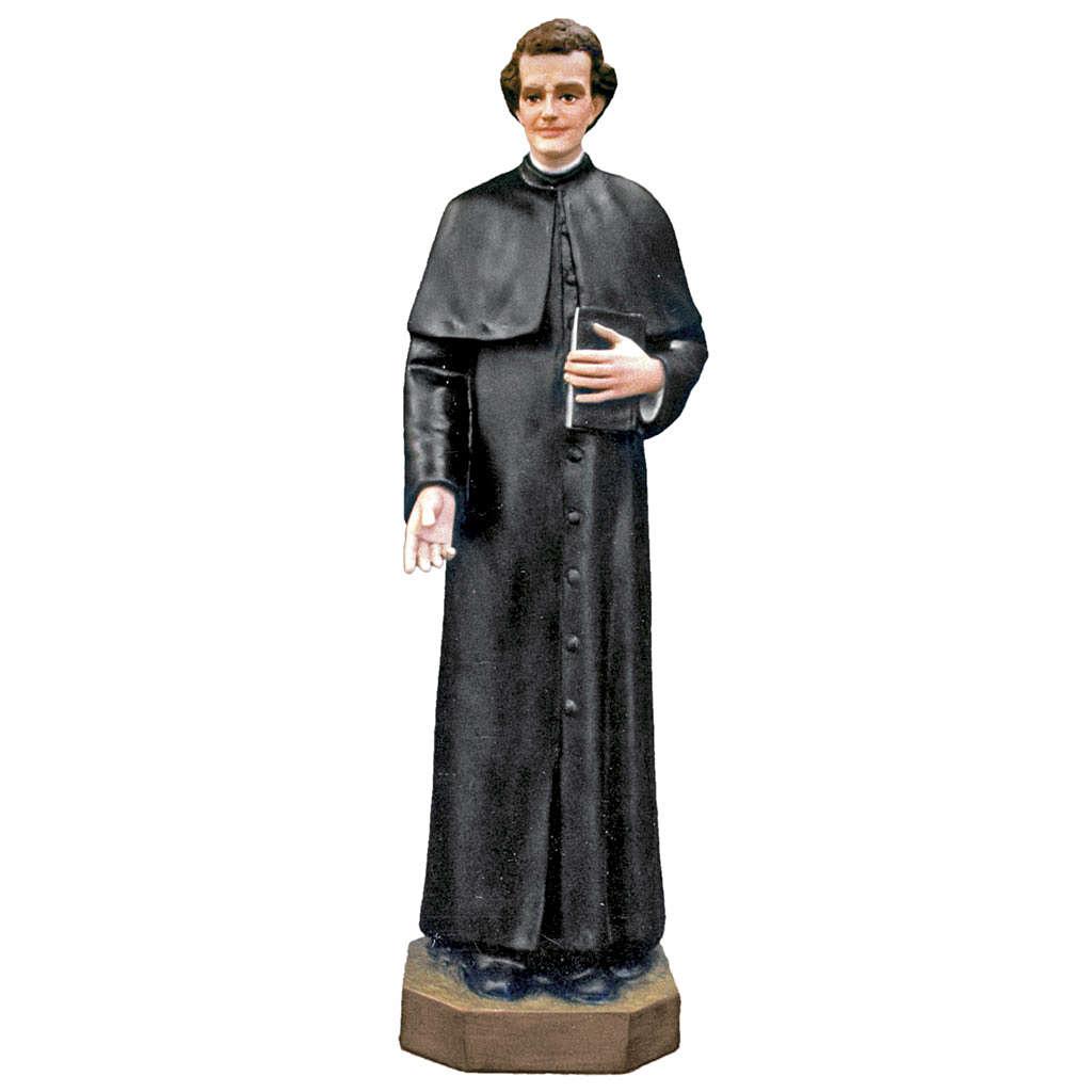 Statue Saint Jean Bosco fibre de verre peinte 100cm 4