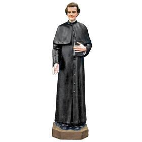 Statue Saint Jean Bosco fibre de verre peinte 100cm s1