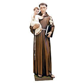 Sant'Antonio da Padova 160 cm fiberglass dipinta s1
