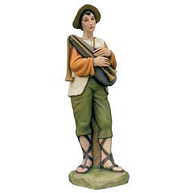 Piper, statue in painted fiberglass, 100cm s1
