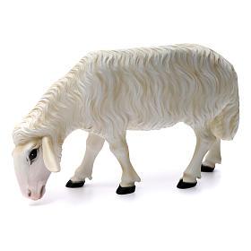 Duas ovelhas para Presépio com figuras de altura média 80 cm fibra de vidro pintada s2