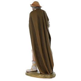 Pastore con pecora 80 cm presepe vetroresina dipinta s8