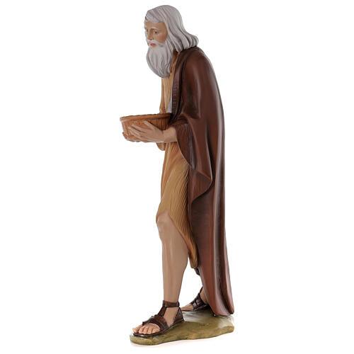 Shepherd 80 cm Nativity Statue in Painted Fiberglass 3