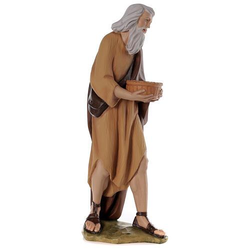 Shepherd 80 cm Nativity Statue in Painted Fiberglass 5