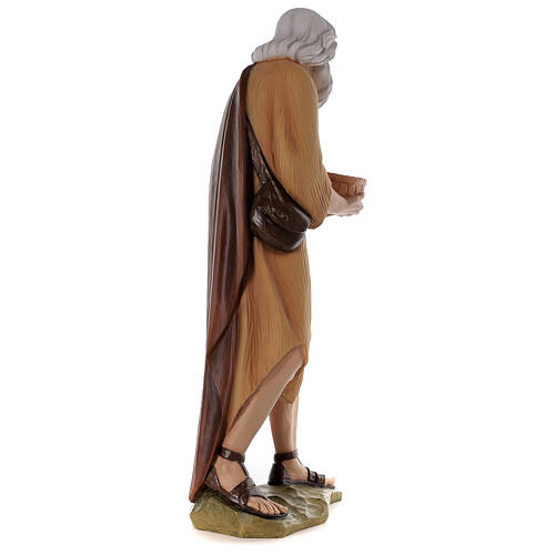 Shepherd 80 cm Nativity Statue in Painted Fiberglass 7