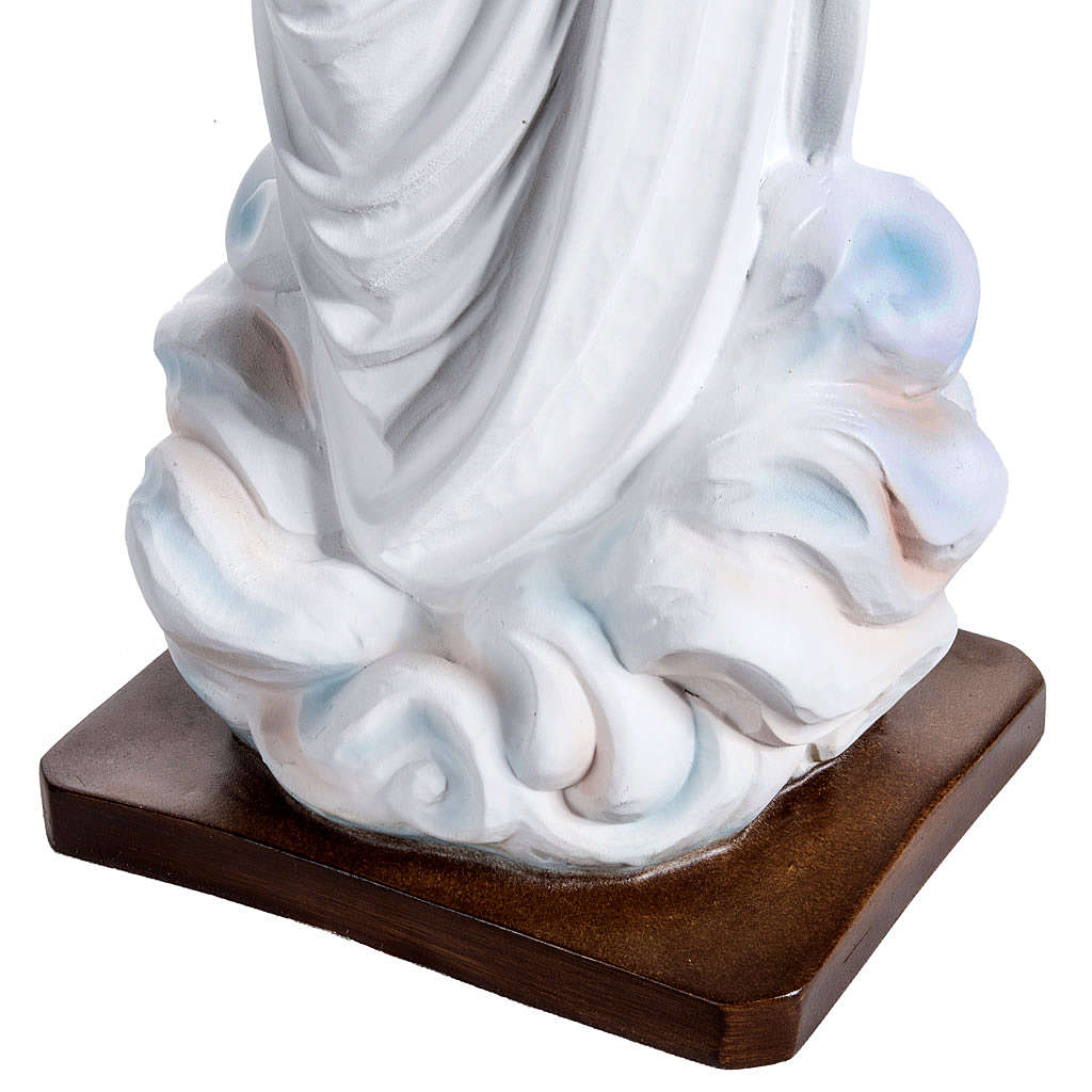 Statue Notre-Dame de Medjugorje fibre de verre peinte 170cm 4