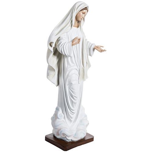 Statue Notre-Dame de Medjugorje fibre de verre peinte 170cm 5
