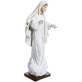 Virgen de Medjugorje 130 cm fibra de vidrio s5