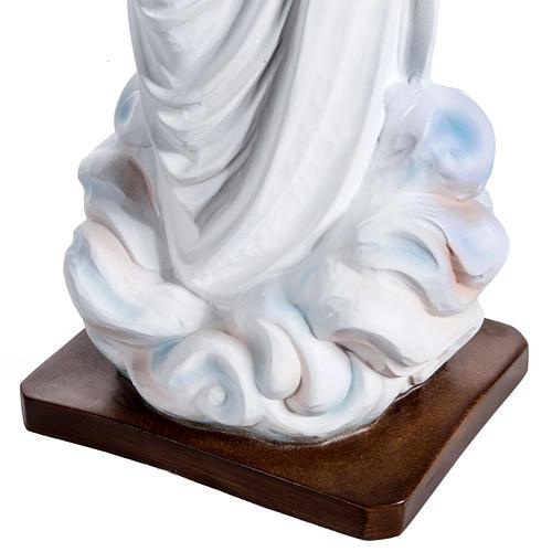 Virgen de Medjugorje 130 cm fibra de vidrio 8