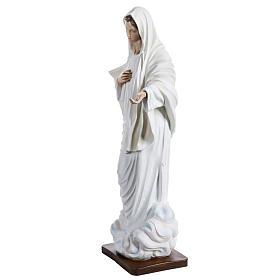 Notre-Dame de Medjugorje fibre de verre peinte 130cm s4