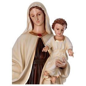 Virgen con Niño 170 cm. fibra de vidrio s2
