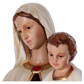 Virgen con Niño 170 cm. fibra de vidrio s4