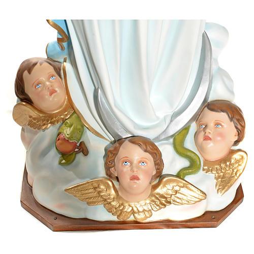 Virgen de la Asunción 180 cm. fibra de vidrio 13