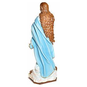Statue Vierge de l'Assomption marie fibre de verre 180cm s11
