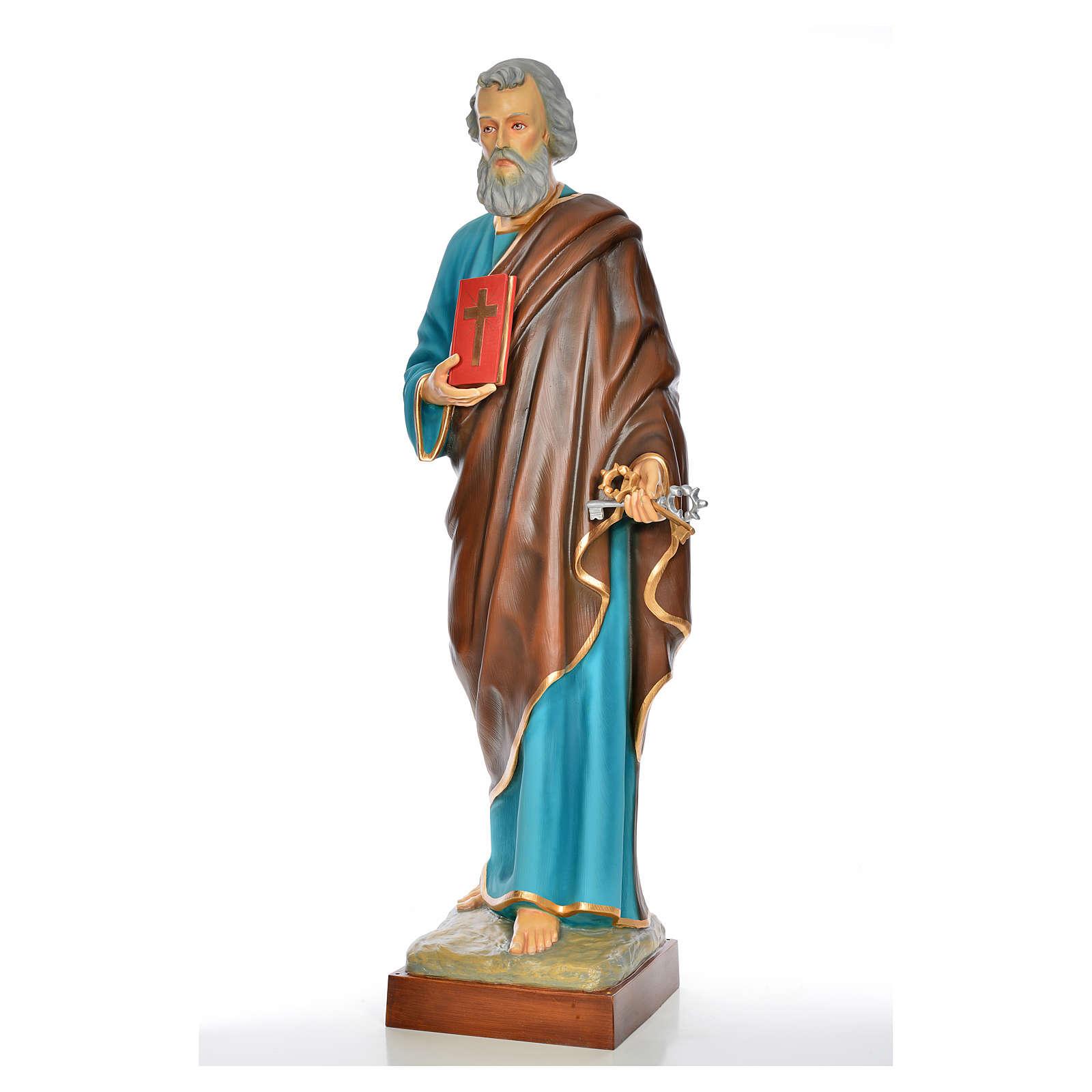 San Pietro 160 cm vetroresina dipinta 4
