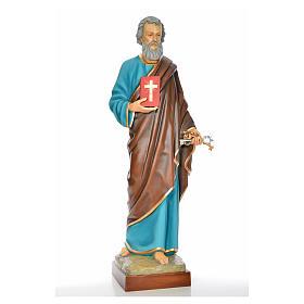 San Pietro 160 cm vetroresina dipinta s1