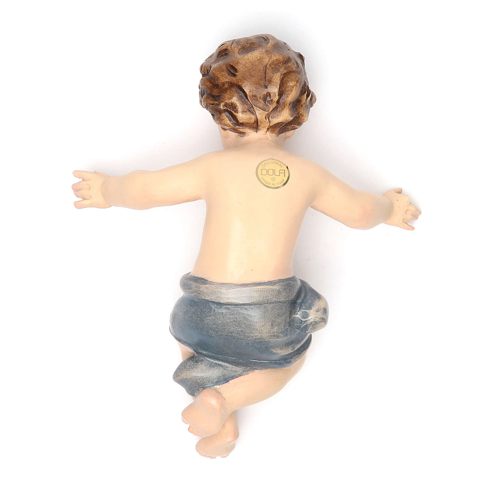 Enfant Jésus 20 cm fibre de verre pour crèche 4