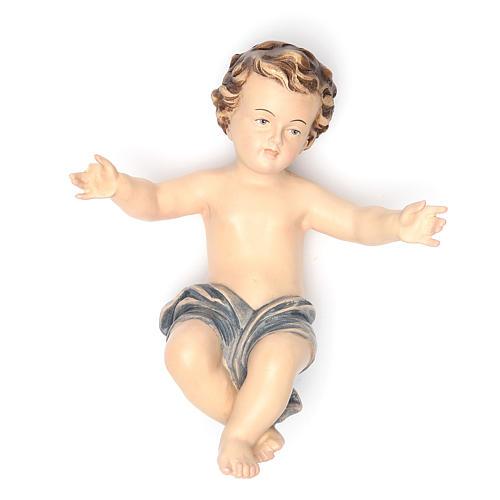 Enfant Jésus 20 cm fibre de verre pour crèche 1