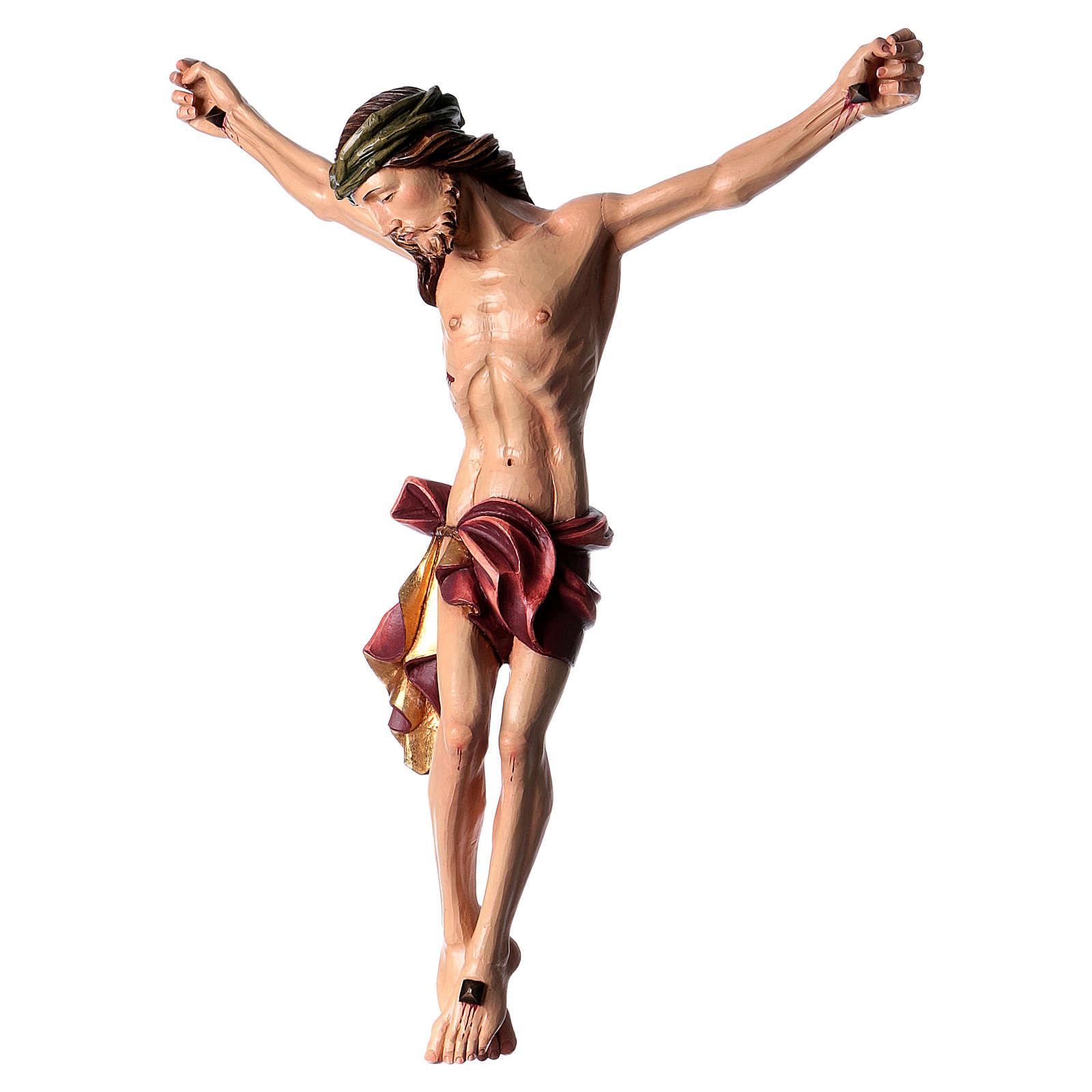 Corpo di Cristo dipinto in fibra di vetro 4