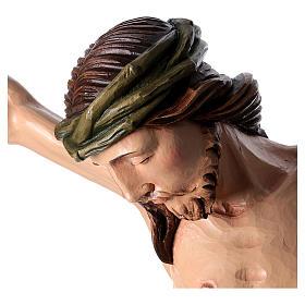 Corpo di Cristo dipinto in fibra di vetro s2