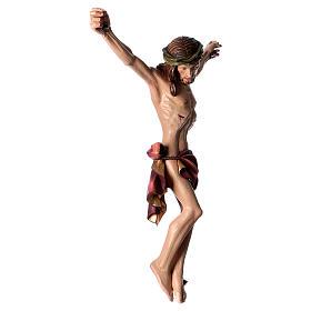 Corpo di Cristo dipinto in fibra di vetro s4