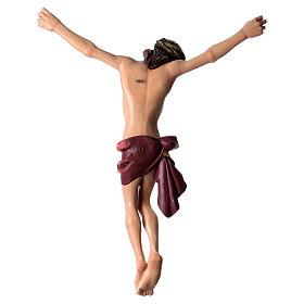 Corpo di Cristo dipinto in fibra di vetro s5