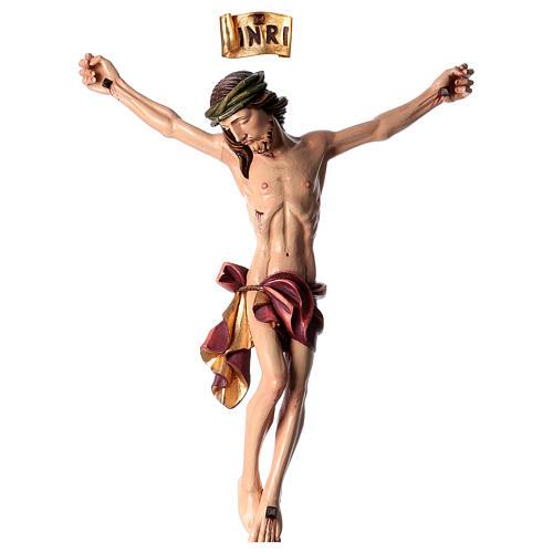 Corpo di Cristo dipinto in fibra di vetro 1