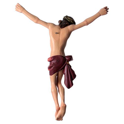 Corpo di Cristo dipinto in fibra di vetro 5