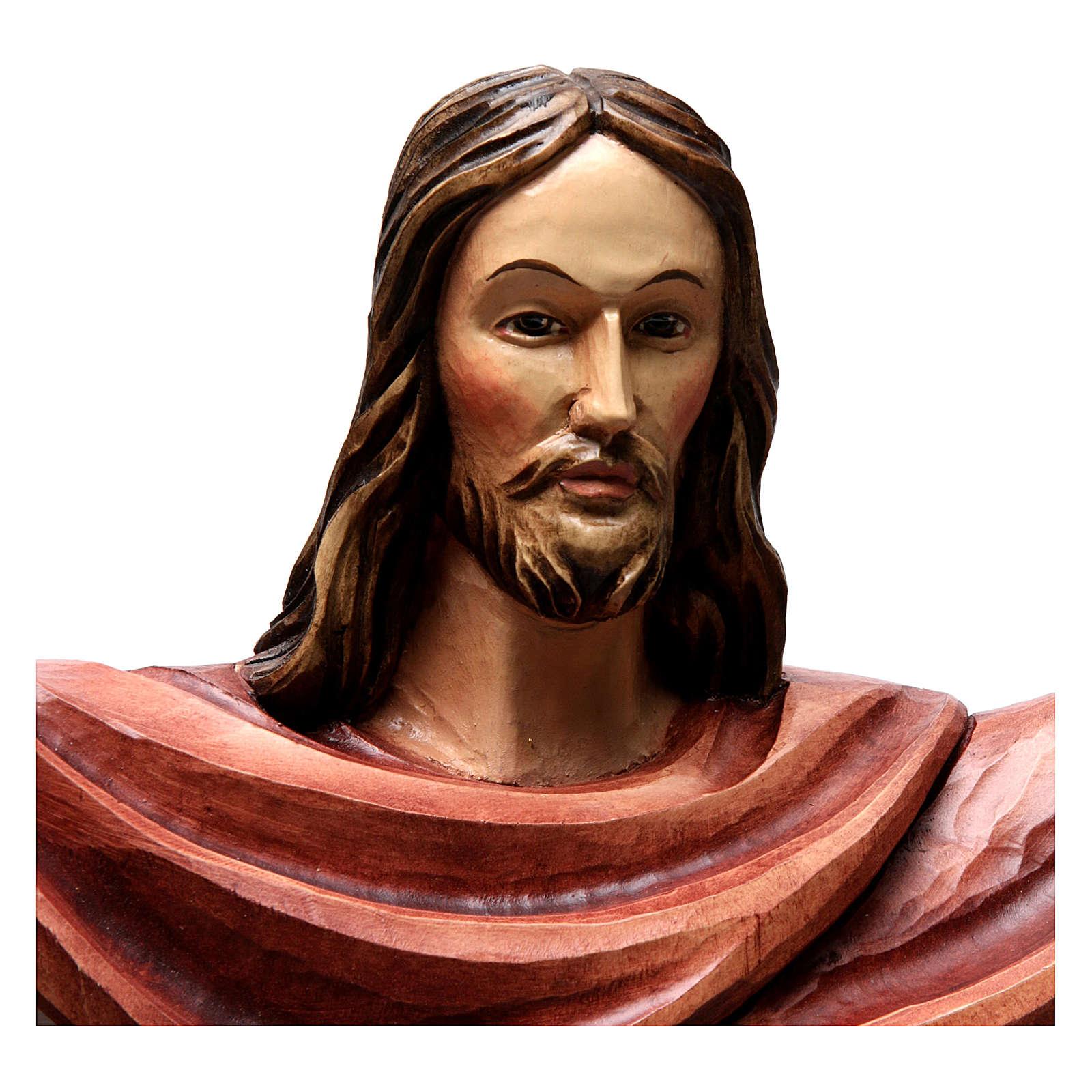 Statua Cristo Re della Val Gardena in fibra di vetro 4