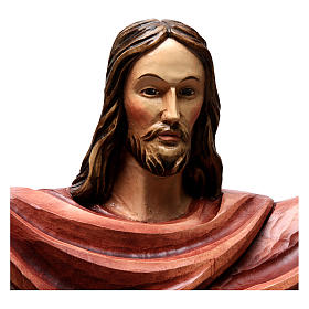 Statua Cristo Re della Val Gardena in fibra di vetro s2