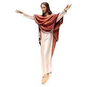 Statua Cristo Re della Val Gardena in fibra di vetro s3