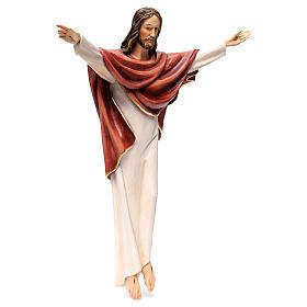 Statua Cristo Re della Val Gardena in fibra di vetro s4