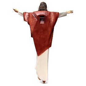 Statua Cristo Re della Val Gardena in fibra di vetro s5
