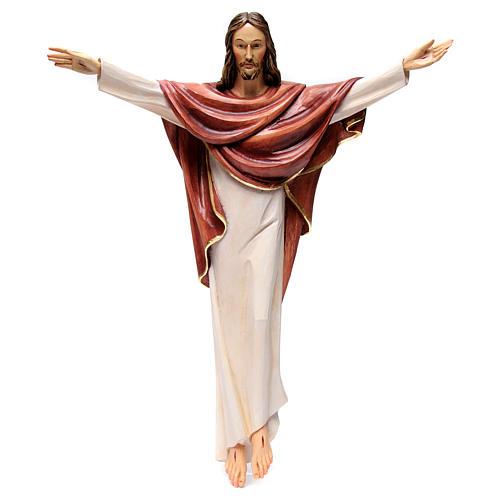 Statua Cristo Re della Val Gardena in fibra di vetro 1