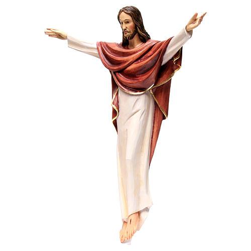 Statua Cristo Re della Val Gardena in fibra di vetro 3
