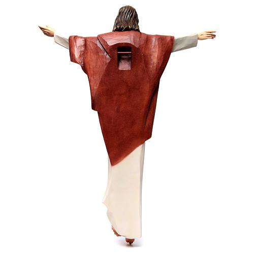 Statua Cristo Re della Val Gardena in fibra di vetro 5